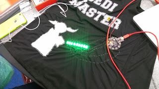 Gathering STEAM: E-textiles at South Fayette School District's STEAM Innovation Summer Institute