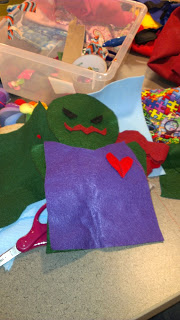 Bookmarks and Puppets Come to Life at Public Library's Teen Space